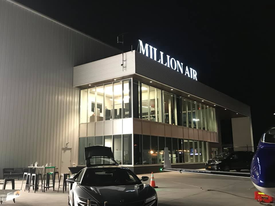Exterior picture of Million Air Syracuse