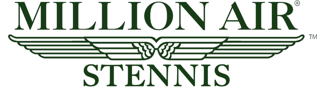 Million Air Stennis logo